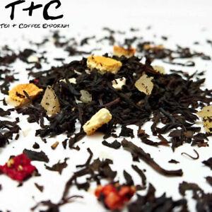 Strawberry and Cherry Tea - Premium Black Tea-Based Ceylon 25g - 1kg