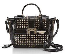 $395 Rebecca Minkoff Women Elle Mini Leather Shoulder Crossbody  Studded Bag New