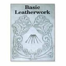 Basic Leather Work Carving Book New 6008-00 by Tandy Leather