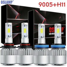 9005 + H11 Total 1480W 177600LM CREE LED Headlight Kit High & Low Light Bulbs