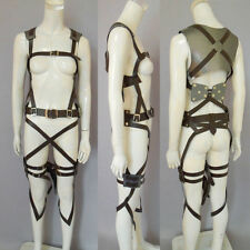 Attack On Titan Shingeki No Kyojin Cosplay Show Belts Adjustable Harness Straps