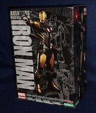 Marvel Now Avengers IRON MAN - ARTFX+ Statue Figure 1/10 Scale Kotobukiya Black