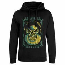 Rockabilly Music Hoodie Rock N Roll Star Skull Death Metal Goth Death Grimm D804