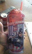 "MARVEL'S CIVIL WAR ""CAPTAIN AMERICA"" 20oz DRINKING CUP  IRON MAN"