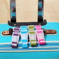 Adjustable Travel Luggage Strap Belt Suitcase Bag Luggage Straps Buckle VG