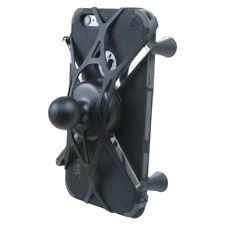 Texel WebGrip w/ RAM Mount X-Grip IV Phone/Phablet Cradle B-Ball 1 inch (Black)