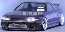1/10 RC Car Body Shell NISSAN SKYLINE GT-R R33  Drift  W/ Light Buckets