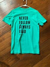 New Under Armour Heatgear Teal Green T-Shirt in Mens Size Small