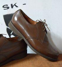 Herren Schnürschuhe 50er TRUE Vintage 60er Halbschuhe braun Chaussures à lacets
