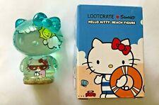 Hello Kitty Beach Figure, Sanrio, Lootcrate Exclusive see-through, kawaii