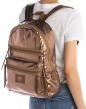 New with Tag - $198 Frye Ivy Metallic Bronze Nylon Multi Purpose Backpack