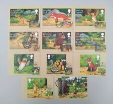 2019 Gruffalo Set of 11 PHQ Postcards 11 Different Postmarks USED FRONT