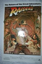 Indiana Jones and The Raiders of the Lost Ark Movie Poster R820112 1982