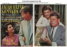 JACQUELINE KENNEDY #1 - SCARCE - FANTASTIC COVER, JOHN F. KENNEDY - MANY PICS