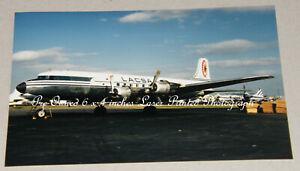LACSA Douglas DC-6 TI-1017C, Miami, December 1971, Aviation Aircraft Photograph