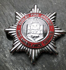 More details for dudley fire brigade and ambulance service cap badge