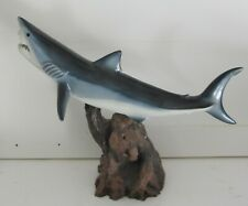 "Taxidermy 18"" Mako Shark Sculpture Statue"