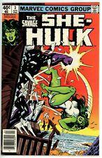 Savage She Hulk #3 (1980) - 8.0 VF *She-Hulk Murders Lady Lawyer*
