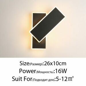 Modern Creative Wall Lamp Light Living Room Bedroom Bedside Aisle LED Lighting