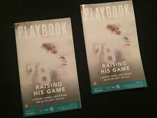 Jacksonville Jaguars vs Miami Dolphins 12/23/19 (2) Game Day Playbooks in VG-Exc