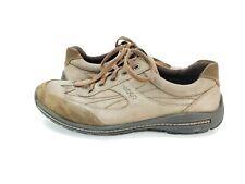 Ecco Casual Suede Oxford Shoes  Men's size 47 EU Tan
