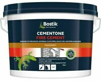 BOSTIK Fire Cement Natural Heat Resistant 1250 degrees Boiler Flue Brick Mortar