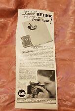 Kodak - 1936 French Advertisement