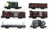 """Roco H0 76051 Güterwagen-Set """"Gotthardbahn"""" der SBB """"Neuheit 2020"""" - NEU + OVP"""