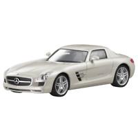 Mercedes-Benz Modellauto 1:87 PKW SLS AMG C197 weiss B66960024