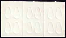 6 PAIRS Silicone-Stick-On-No-Slip-Nose Pads For Eyeglasses and Sunglass - Small