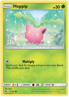 Hoppip 11/214 Lost Thunder Pokemon Card | New | x2 Cards