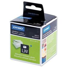 DYMO LABELWRITER LABELS 99010 LW STANDARD ADDRESS LABELS 89X28MM / 2 X 130 PACK