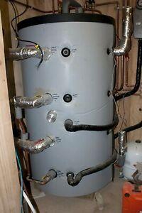 800 Litre Sigma solar thermal storage tank