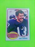 SIGNED 1976 Topps #183 Dave Jennings Giants Autograph