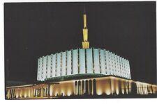 LDS/Mormon Ogden Temple, Utah, circa 1970's Vintage Unused Postcard