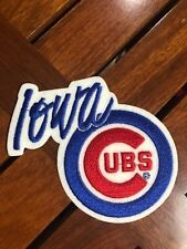 Iowa Cubs Iron On Patch 5 1/4�