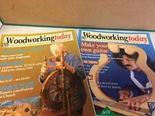 2 VINTAGE WOODWORKING TODAY MAGAZINES- ISSUE 29 & 32 MARCH & JUNE 1992