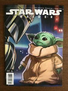 Star Wars Insider Magazine #202 Baby Yoda Titan Comics 2021