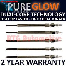 5x Diesel Heater Glow Plugs For Alfa Romeo 156 159 166 Spider Fiat Croma Lancia