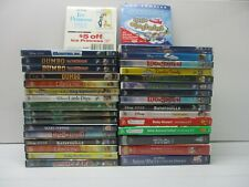 Wholesale Lot Of 33 Assorted ***Walt Disney*** DVDs & DVDs Movies