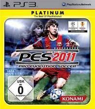 PlayStation 3 pro evolution soccer pes 2011 alemán como nuevo