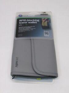 Pacsafe RFID-tec 250 Ocean Blue Travel Wallet