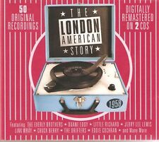 THE LONDON AMERICAN STORY 1958 2 DISC CD