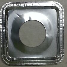 400 Aluminum Foil Square Gas Burner Disposable Bib Liners Stove Covers WHOLESALE
