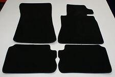 MERCEDES S CLASS W126 COUPE 82-92 LUXURY TAILORED CAR MATS BLACK M14C