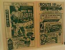 1950 Mt. Lebanon Washington Pa.Route 19 Drive-In Movie Theatre Pittsburgh Poster