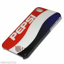 Cover Custodia Rigida Per iPhone 4/4S Pepsi Cola + Pellicola Salva Display LCD