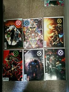 House of X  #1 to #6 complete (First Printing)