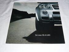 Prospekt Brochure Mercedes M-Klasse W164 W 164 ML63 ML 63 AMG 04 NEU NOS