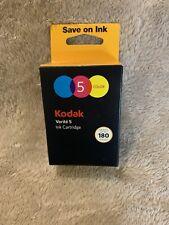 **New In Package** Kodak Verite 5 Genuine Original Color Ink Cartridge